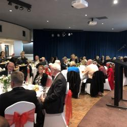Attendees of the Charity Dinner